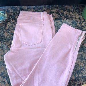 Blush colored f21 jeans